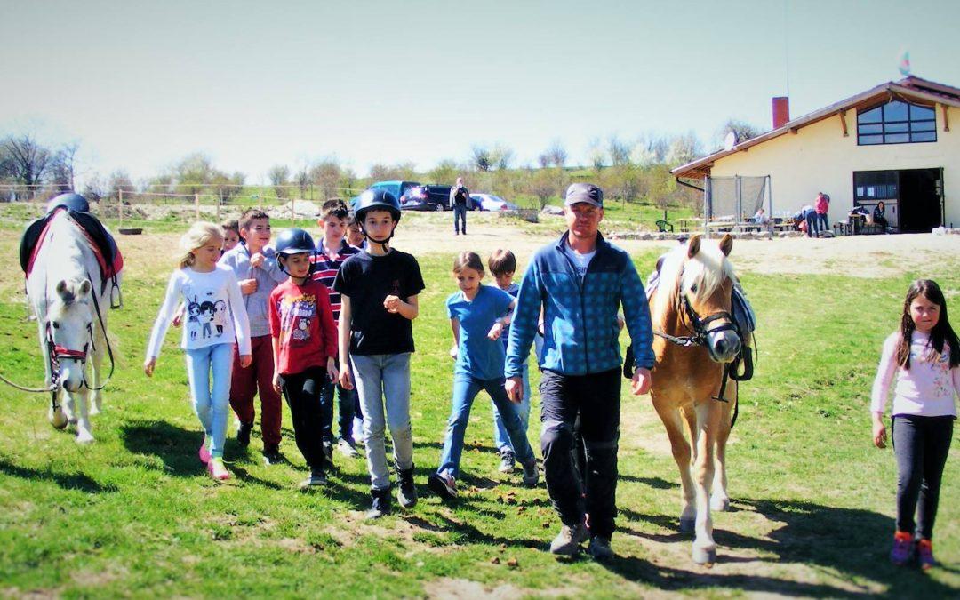 Един ден с коне и езда